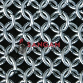 BUTTED CHAIN MAIL (ALUMINUM)