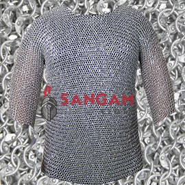 Chain Mail 9 mm round riveted aluminum